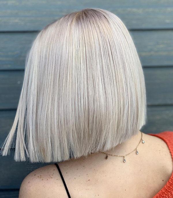 Stumpfe Bob-Schnitte für kurzes Haar