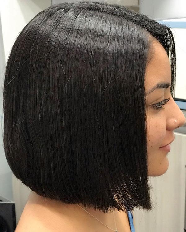 Stumpfe Bob-Stile für kurzes Haar