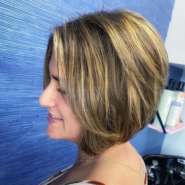 Eine Linie Bob Cut Frisuren
