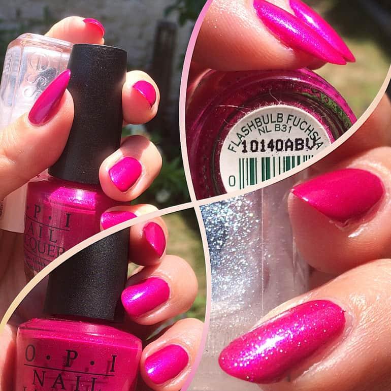 OPI 2020 Farben: Fuchsia-Töne