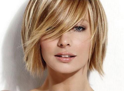 Blondes kurzes Haar Idee