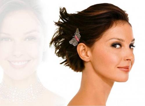 Hochzeitsfrisuren Ideen für kurzes Haar