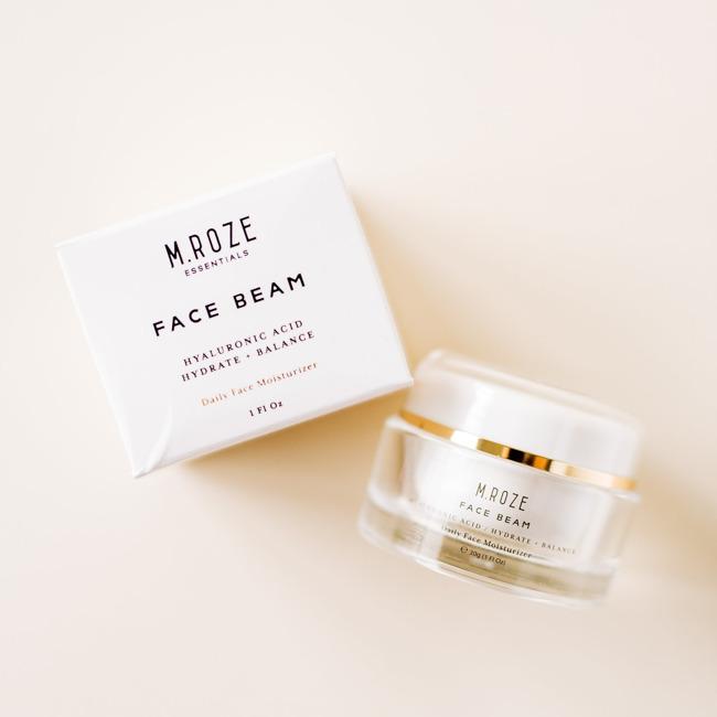 M. Roze Essentials Gesichtsstrahl-Feuchtigkeitscreme
