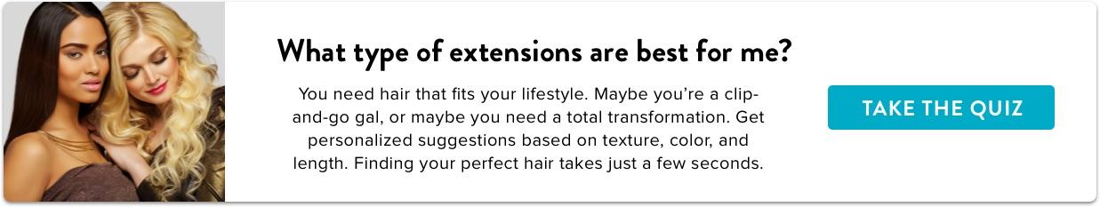 Haarverlängerungs-Quiz