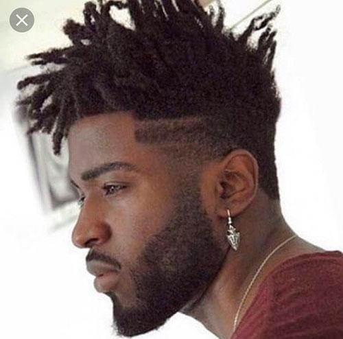 Dreadlock-Frisur für Männer