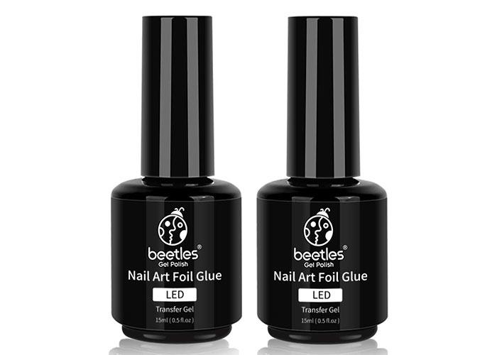 Beste metallische Nagelfolien: Beetles Nail Art Foil Glue Gel für Folienaufkleber