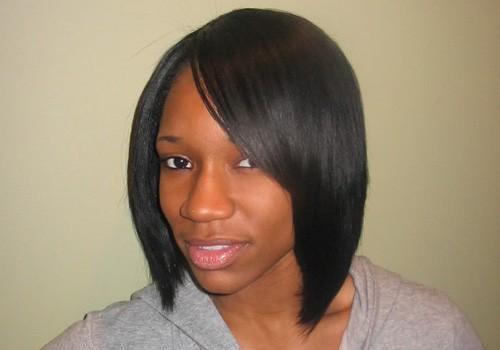 Erstaunliche Bob-Frisuren für schwarze Frauen