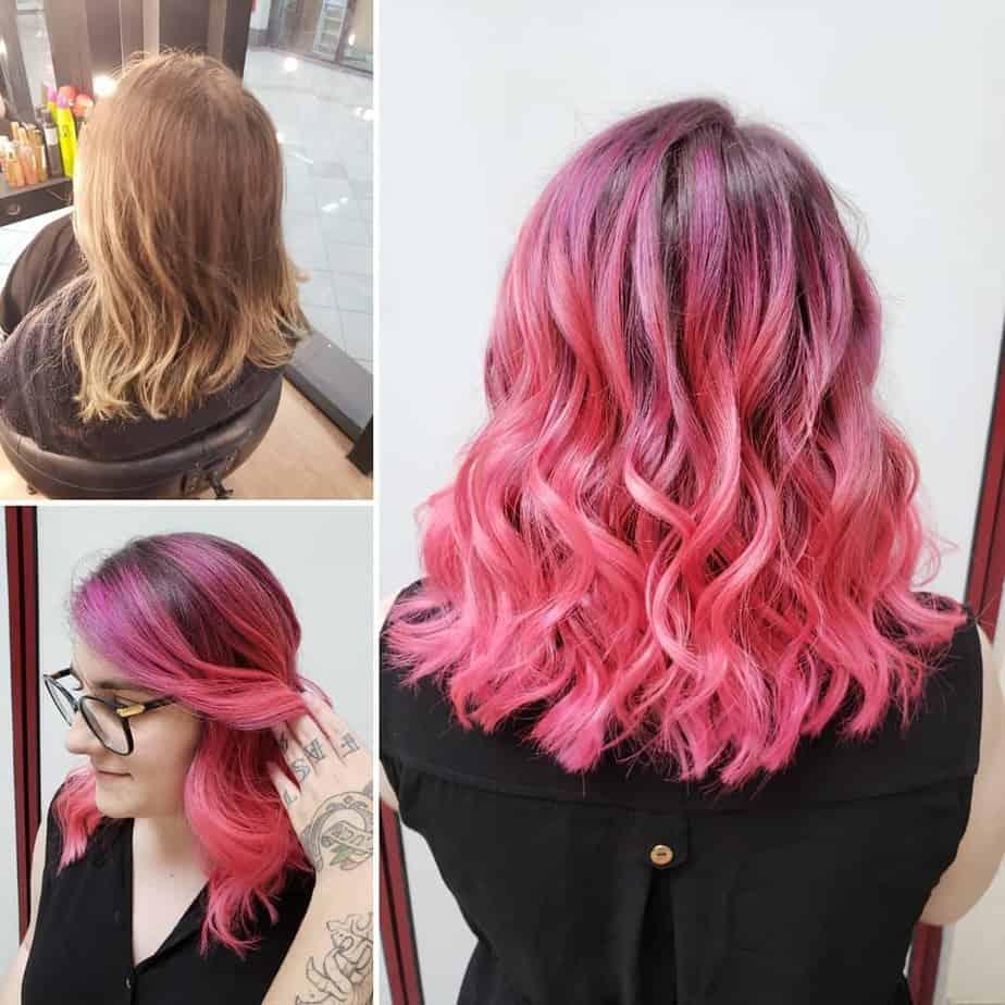 Extreme Palette von Haarfarbentrends 2020