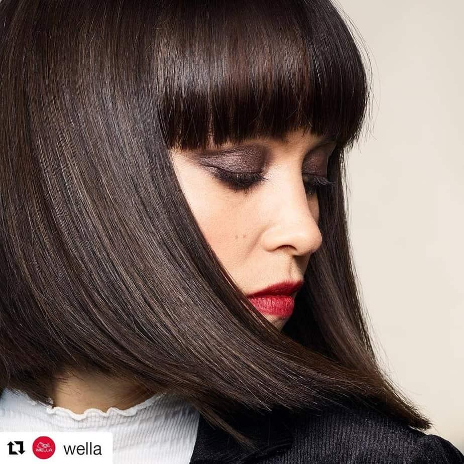 Glatte Caret-Haartrends 2020