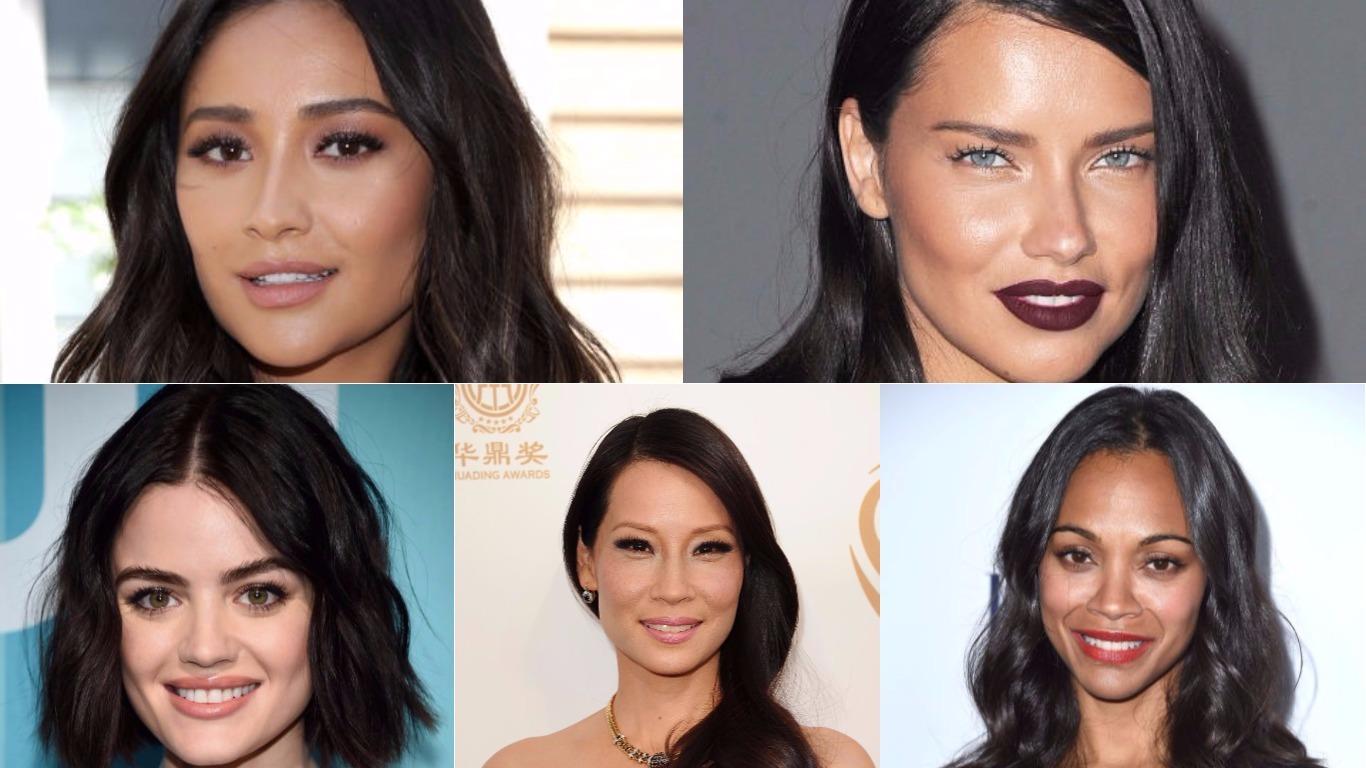dunkelbraune Haarfarben 2019