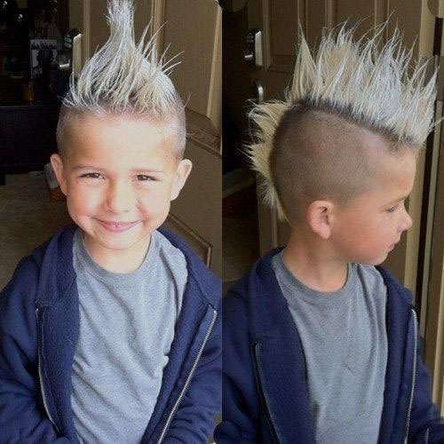 Mohawk Fade Style für Kinder