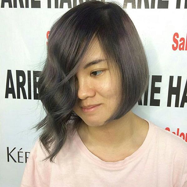 Asymmetrische Bob-Haarschnitte