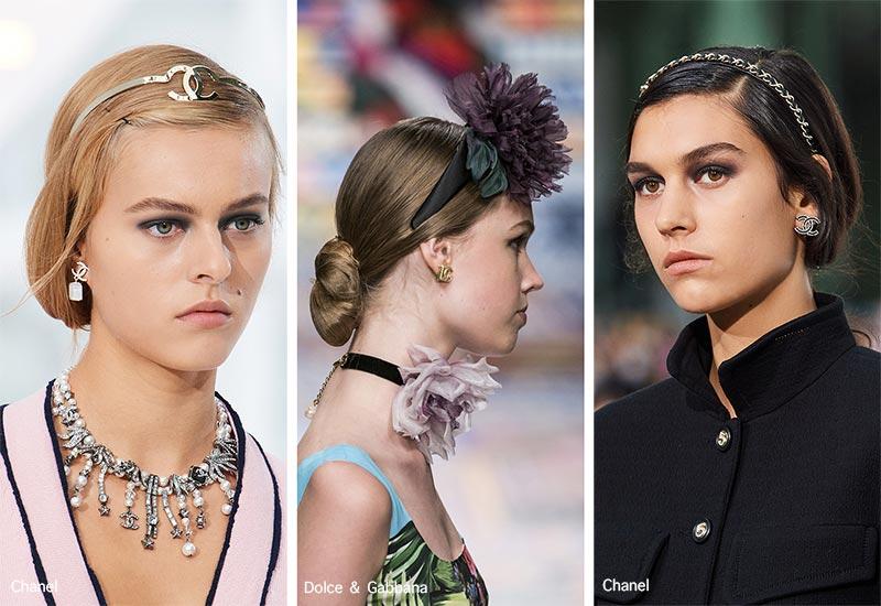 Frühjahr / Sommer 2021 Haarschmuck-Trends: Stirnbänder