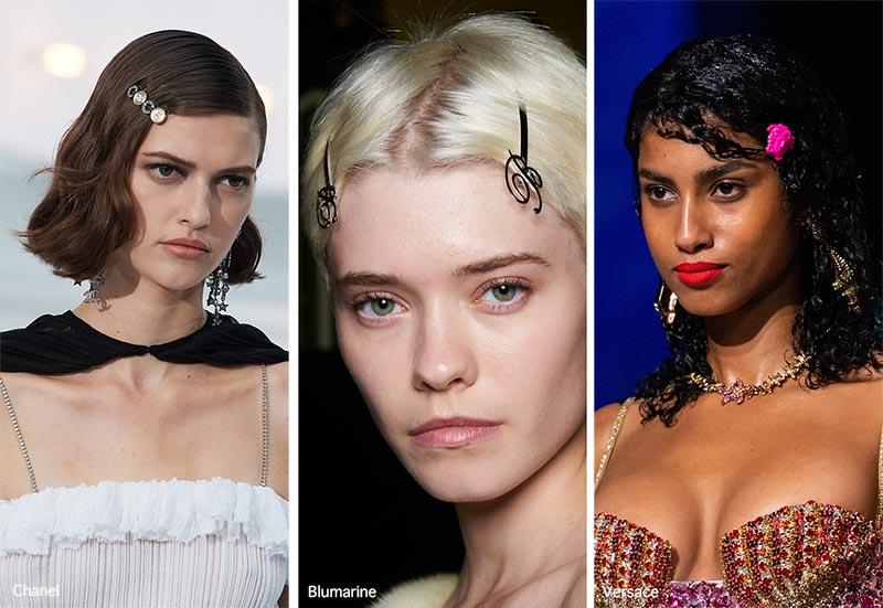 Frühjahr / Sommer 2021 Haarschmuck-Trends: Bobby Pins