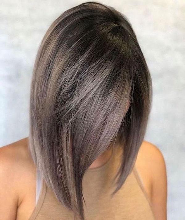 Langer Bob-Haarschnitt