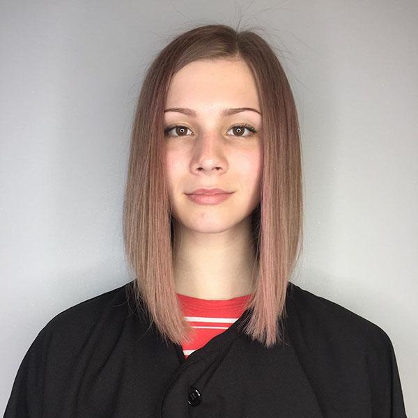 Lange Bob Cut Frisur