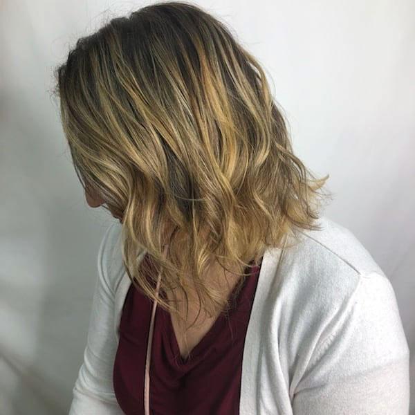 Lange Haarschnitte im Bob-Stil