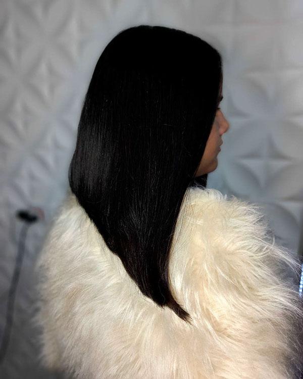 Lange Bob-Haarschnitt-Bilder