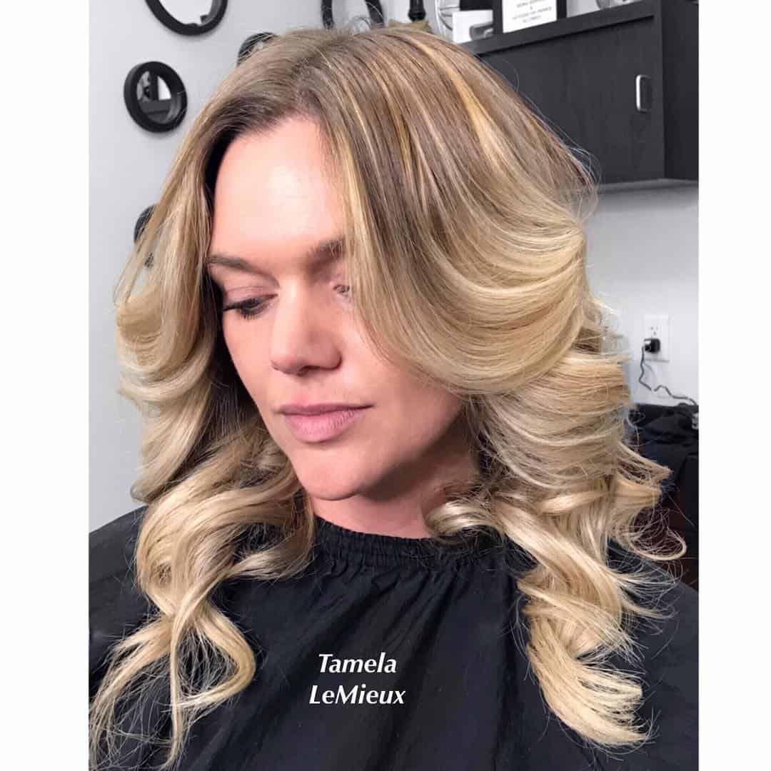 mittellange Haarschnitte 2020 Barrel Curls
