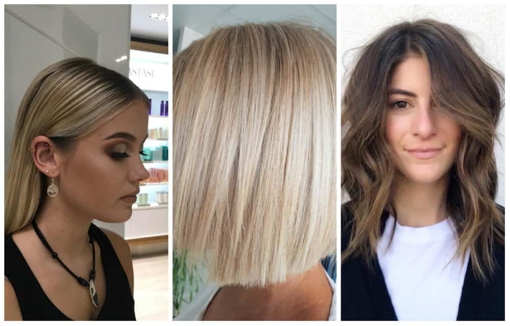 Top 10 mittellange Frisuren für Frauen 2020 (40 Fotos +