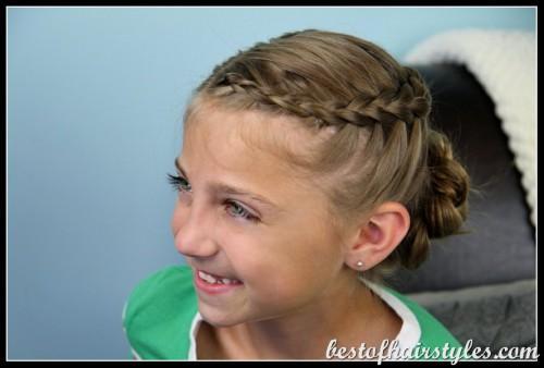 Süße Mädchen Frisuren