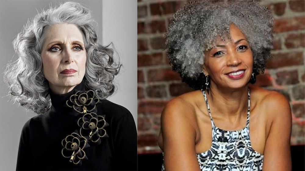 Lockige Frisuren für Frauen über 50 - Frisuren für Frauen über 50