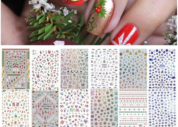 Nail Stickers & Nail Art Tattoos: Kalolary Self-Adhesive Nail Stickers