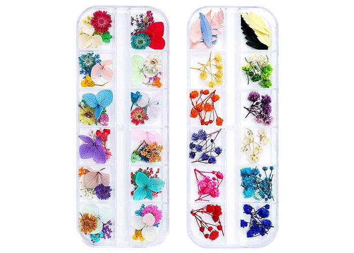 Nail Stickers & Nail Art Tattoos: iFancer Dried Flowers Nail Art