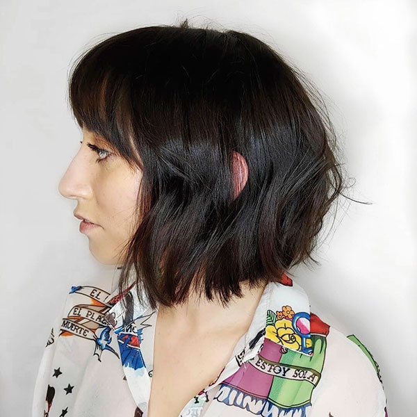 Schicker Bob-Haarschnitt