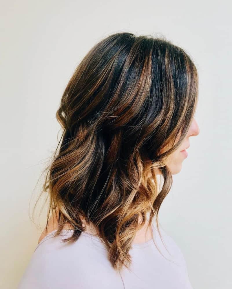 Frauen lange Frisuren 2020 Kaskade