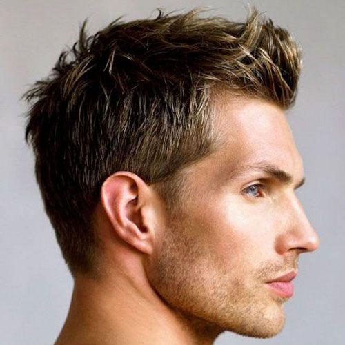 Stachelige Haarschnitte für Herren