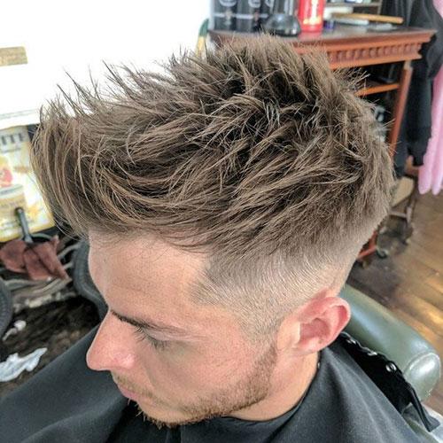 Stachelige Frisuren für Männer
