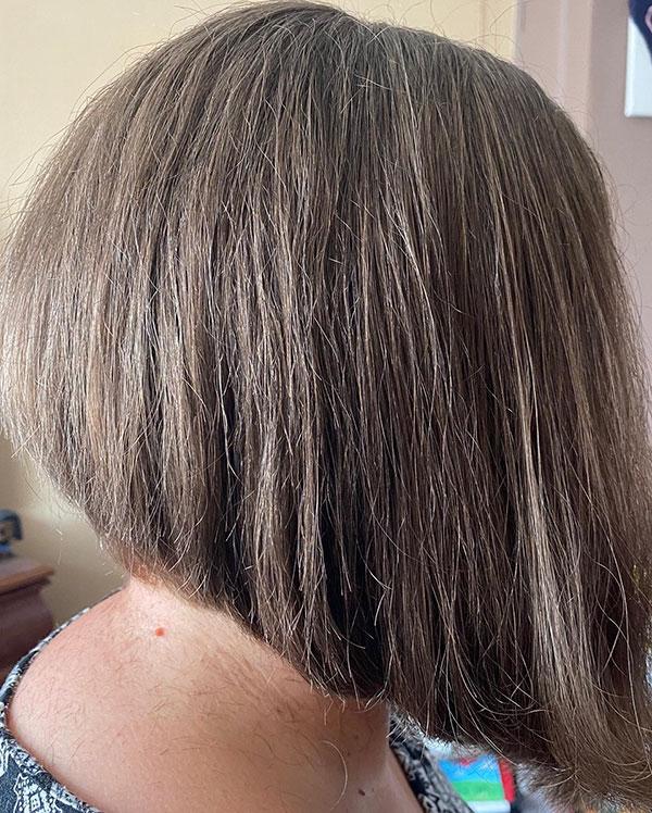 Absolvierte Bob Haircuts