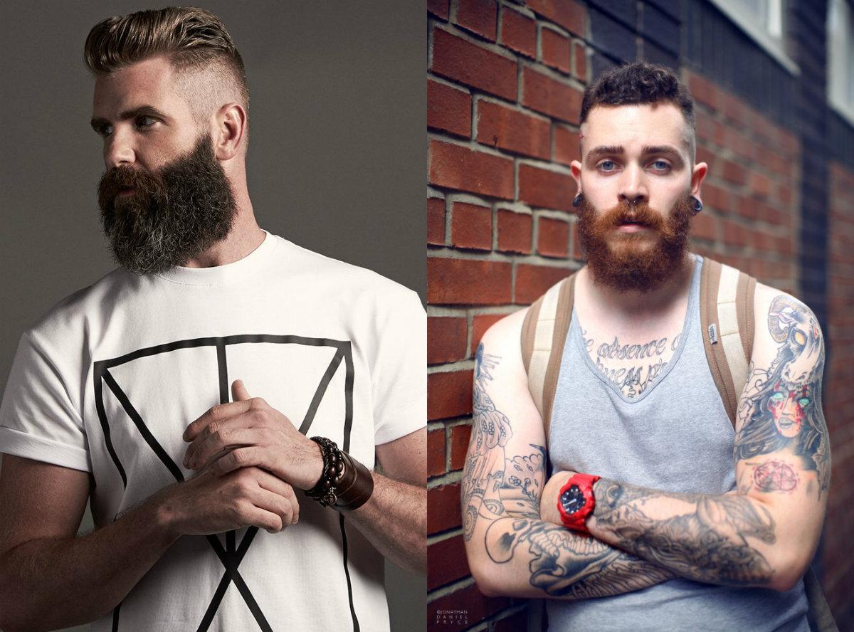 coole Männer Haarschnitte und Bärte 2018