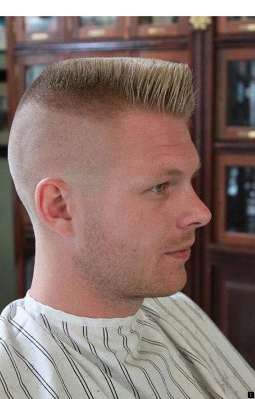 Fade Flat Top Haarschnitt