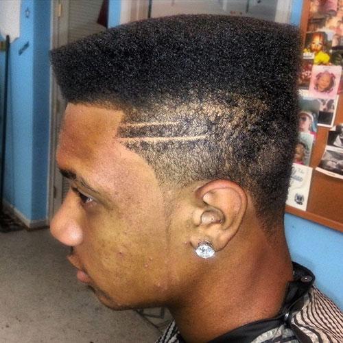 Flat Top Fade Haircut