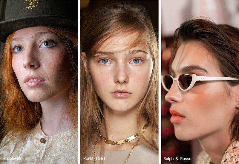 Make-up-Trends für Frühjahr / Sommer 2021: Erröten