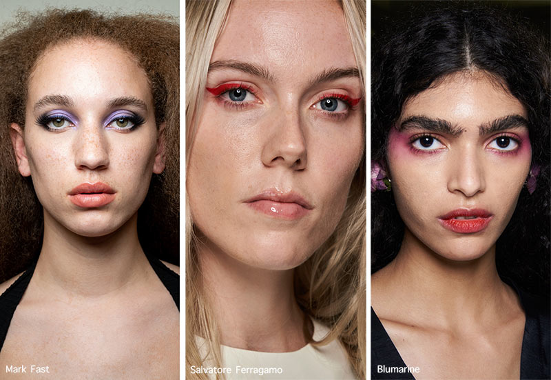 Frühjahr / Sommer 2021 Make-up-Trends: Buntes Augen-Make-up