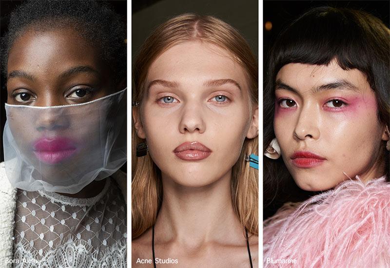 Make-up-Trends Frühjahr / Sommer 2021: Ungewöhnliche Lippenverläufe