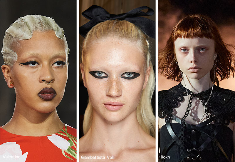 Make-up-Trends Frühjahr / Sommer 2021: Gebleichte Augenbrauen