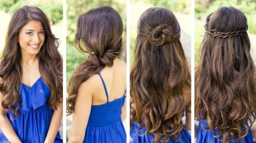 Sommer lange Frisur für Frauen