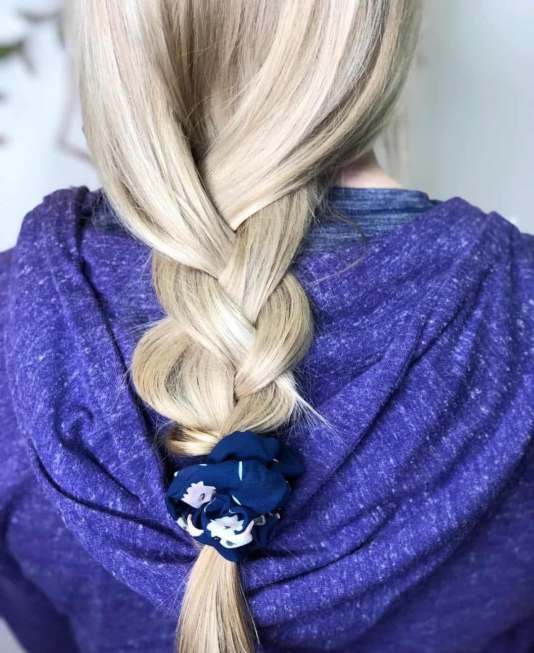 Haarschnitte 2020 Trends lose Zopf