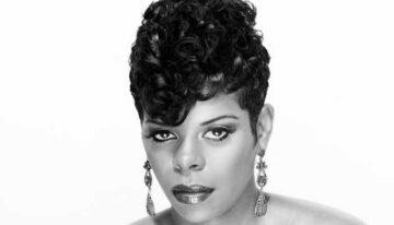 Kurze lockige Frisuren für schwarze Frauen | Sophie Frisuren