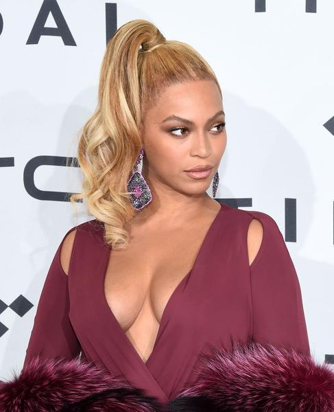 Beyonce halbe Pferdeschwanz Frisur