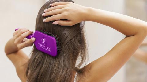 richtige Haarpflege Routine