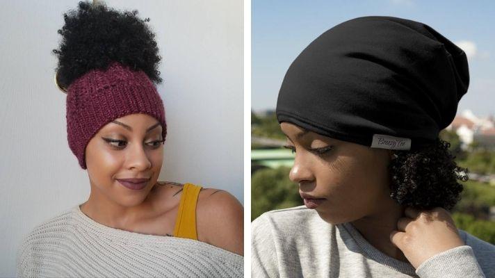 Hüte für lockiges Haar, die Ihnen keinen Hutkopf geben