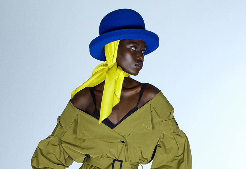 Huttrends Frühjahr / Sommer 2021: Übergroße Bowlerhüte bei Nina Ricci