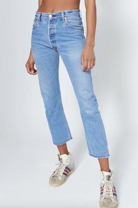 Beste Vintage Jeans für Frauen: Levi's 501 Vintage Jeans