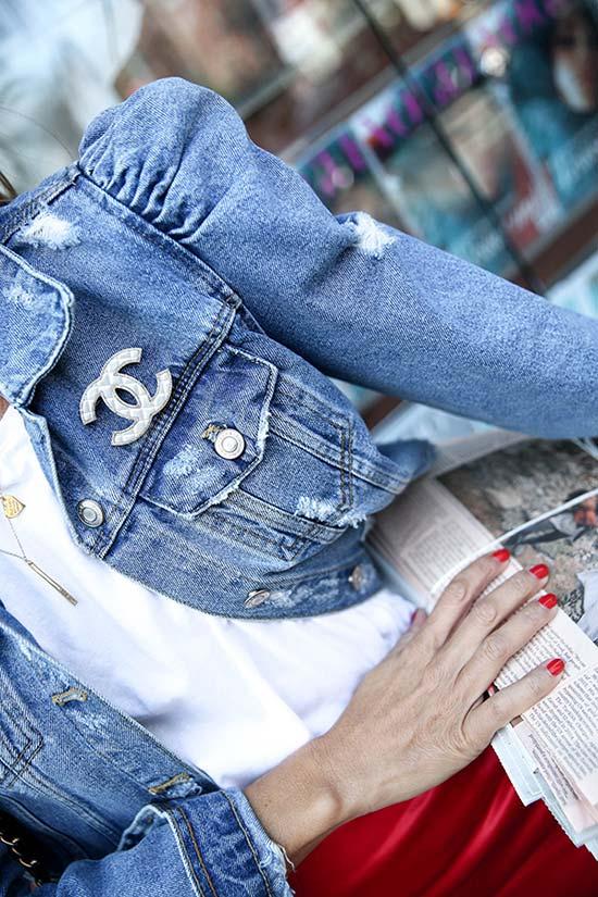 Wie man Vintage Jeansjacken stylt