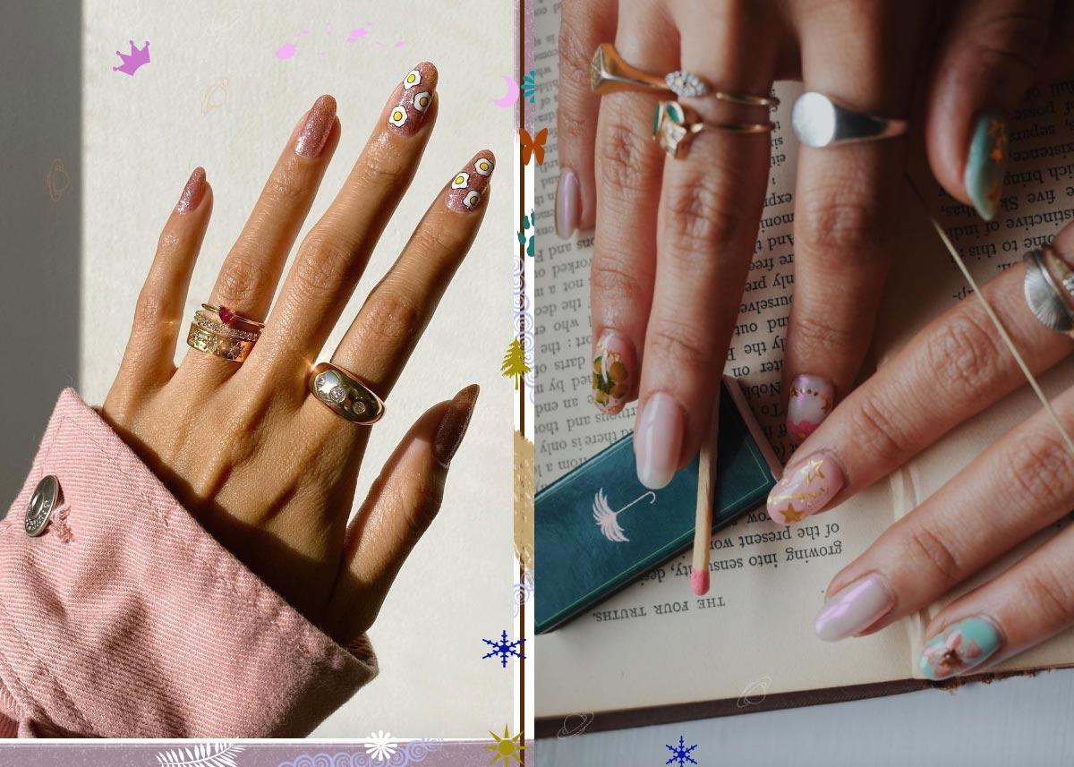17 Best Nail Stickers & Tattoos for Fun Nail Art
